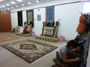 トルコ絨毯工場