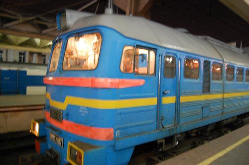 ロシア寝台列車1