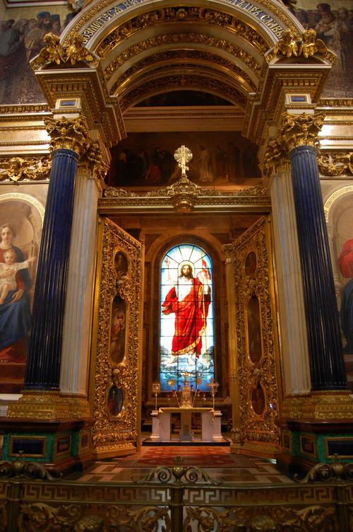 血の上の救世主教会内部1