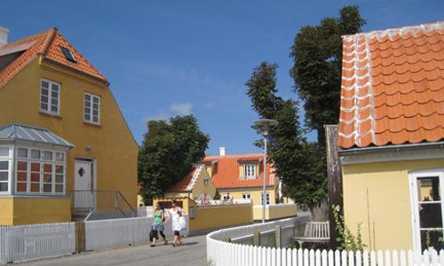 スケーエンの家々