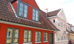 オーデンセの家々