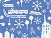 街中はすっかりクリスマスムード。そんなヘルシンキの町を楽しめる、トラムツアーがお薦めです!