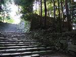 大河ドラマ「江」ゆかりの地-安土城跡