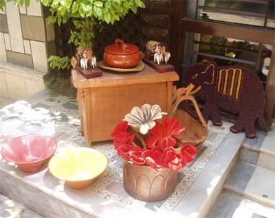 フェルト 陶器類