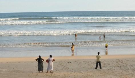 スリランカ海岸
