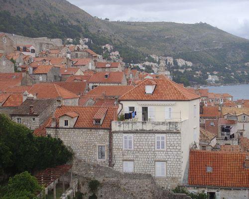 ドブロブニク町の風景