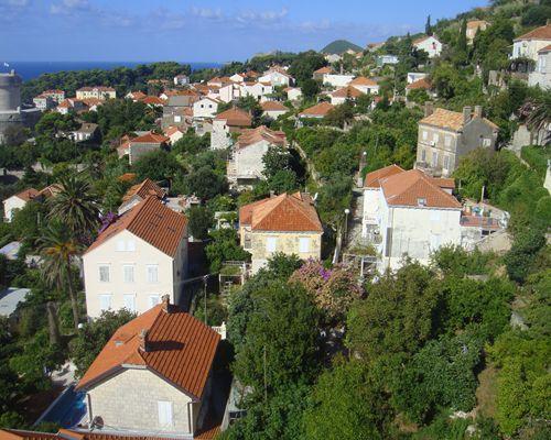 ドブロブニク美しい町の風景