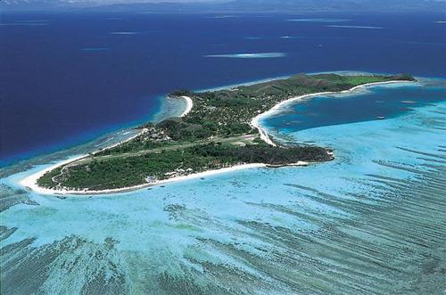 フィジーを代表するマナ島☆