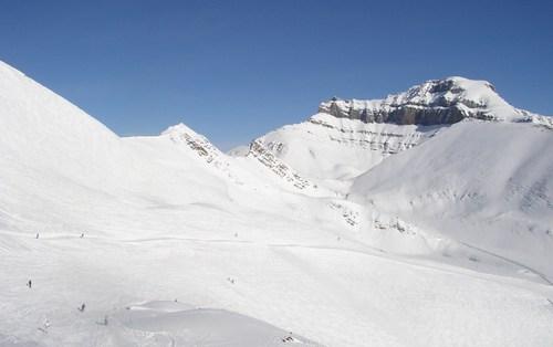 スキーヤーはまばら