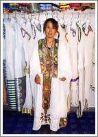 エチオピアの民族衣装1