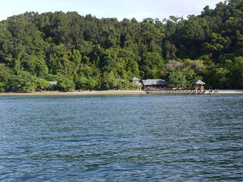 サピ島桟橋