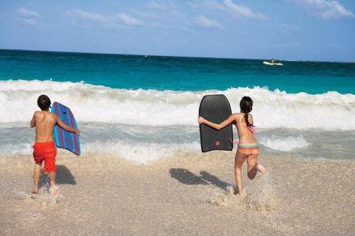 青い海のカリブ海!