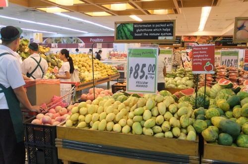 マンゴーが安い
