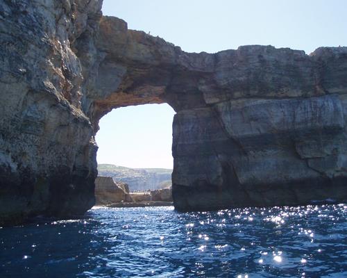 マルタ島ブルーグロット