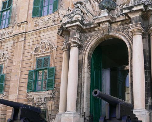 世界遺産バレッタの大聖堂