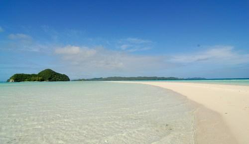 パラオ砂浜