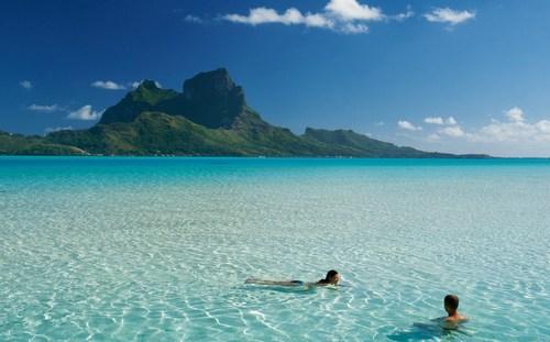 タヒチ水泳