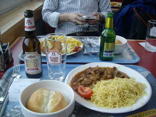 Jungfrau lunch