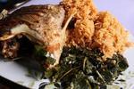 スクマと魚料理