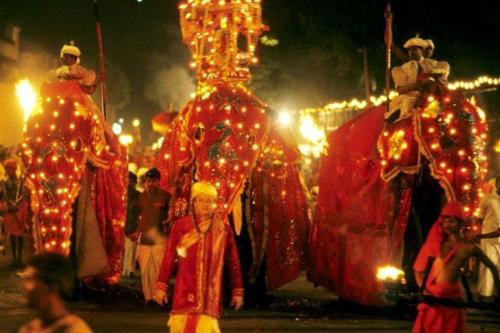 スリランカ ぺラヘラ祭り