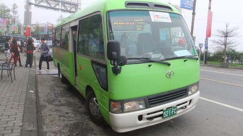 嘉義発阿里山行き公共バス