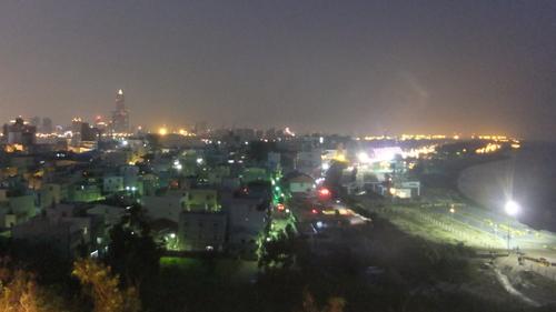 旗津半島旗后山からの夜景