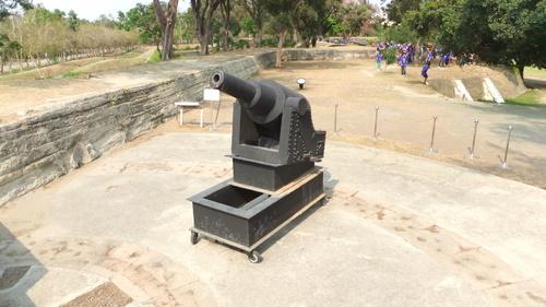 清朝時代に造られた要塞「億載金城」