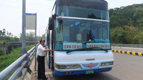 集集線の代行バス