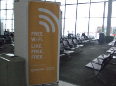 トロント空港WIFI
