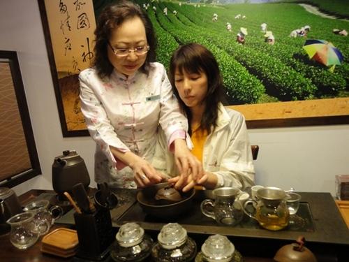 台北 中国茶教室