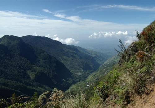 ?スリランカの中央高地