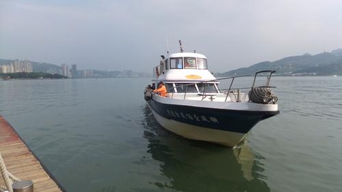 高速船で漁人碼頭へ向う