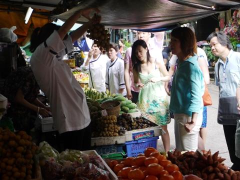 タイ料理クッキングツアー