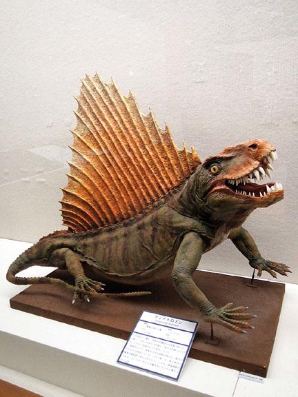 恐竜展03ディメトロドン