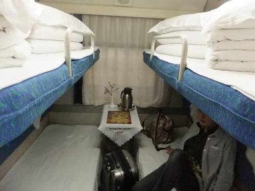 1等寝台はコンパートメント