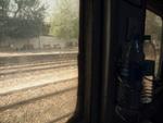 デリーから汽車の車窓