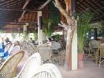 ビーチのカフェ