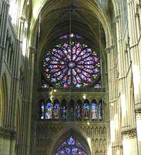 ランス大聖堂の薔薇窓