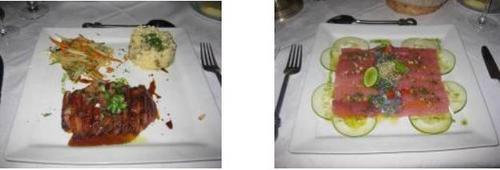 ボラボラ島のレストラン