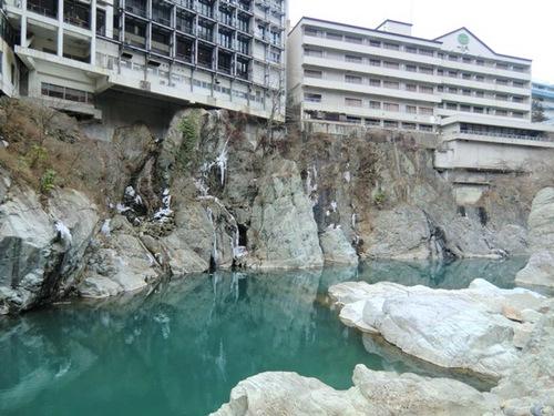 鬼怒川の渓谷