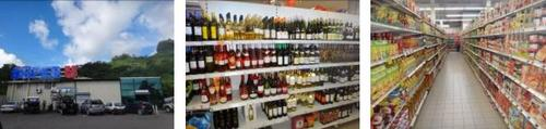 ボラボラ島 スーパーマーケット