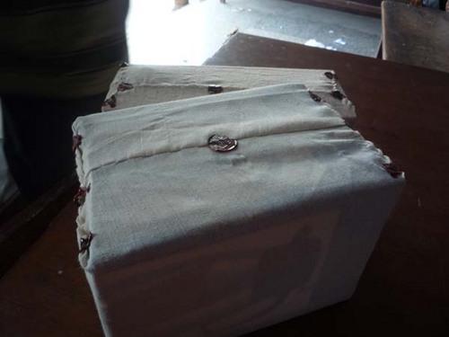 郵便局 荷物を作る 3