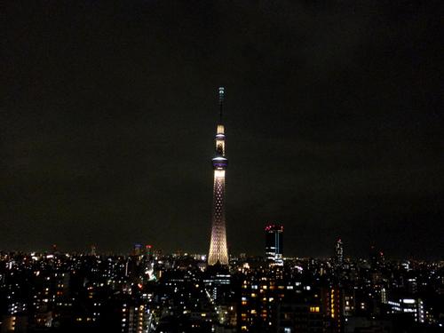 東京スカイツリー(夜)