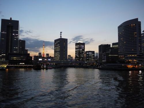 景色 夜景 東京タワー