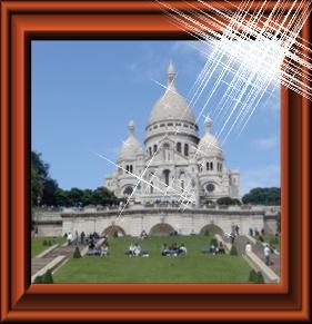 パリのサクレ・クール寺院