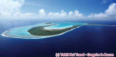 上陸できるツパイ島