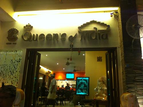 「Queen's of India」外観