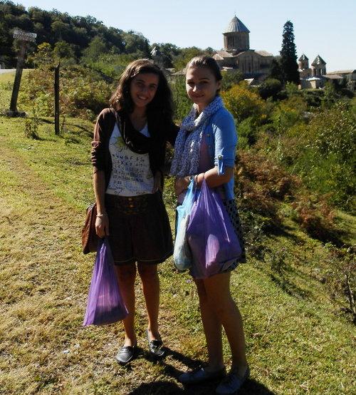 way back from Gelati