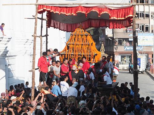 インドラジャトラ2012 クマリ