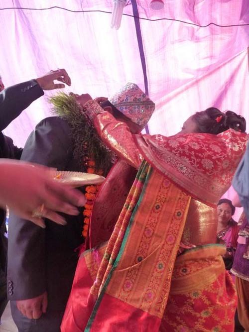ネワール族の婚約式1